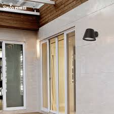 savia waterproof outdoor wall l gu10 max 35w aluminum outdoor