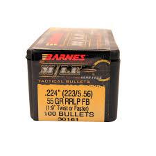 Barnes Bullets 223/5.56 .224