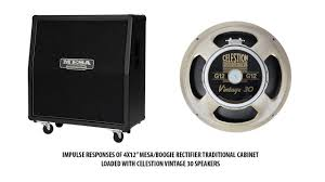 Mesa Boogie Cabinet 4x12 by Impulse Responses Of Mesa Boogie 4x12 U0027 U0027 Rectifier Traditional