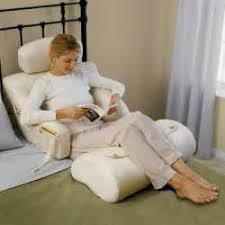 Replace Foam Padding Bed Rest Pillow with Arms