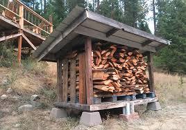 diy firewood storage shed u0026 plans pure living for life