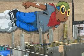 Big Ang Mural Chicago by New South Loop High Rise Will Cover Hebru Brantley U0027flyboy U0027 Mural