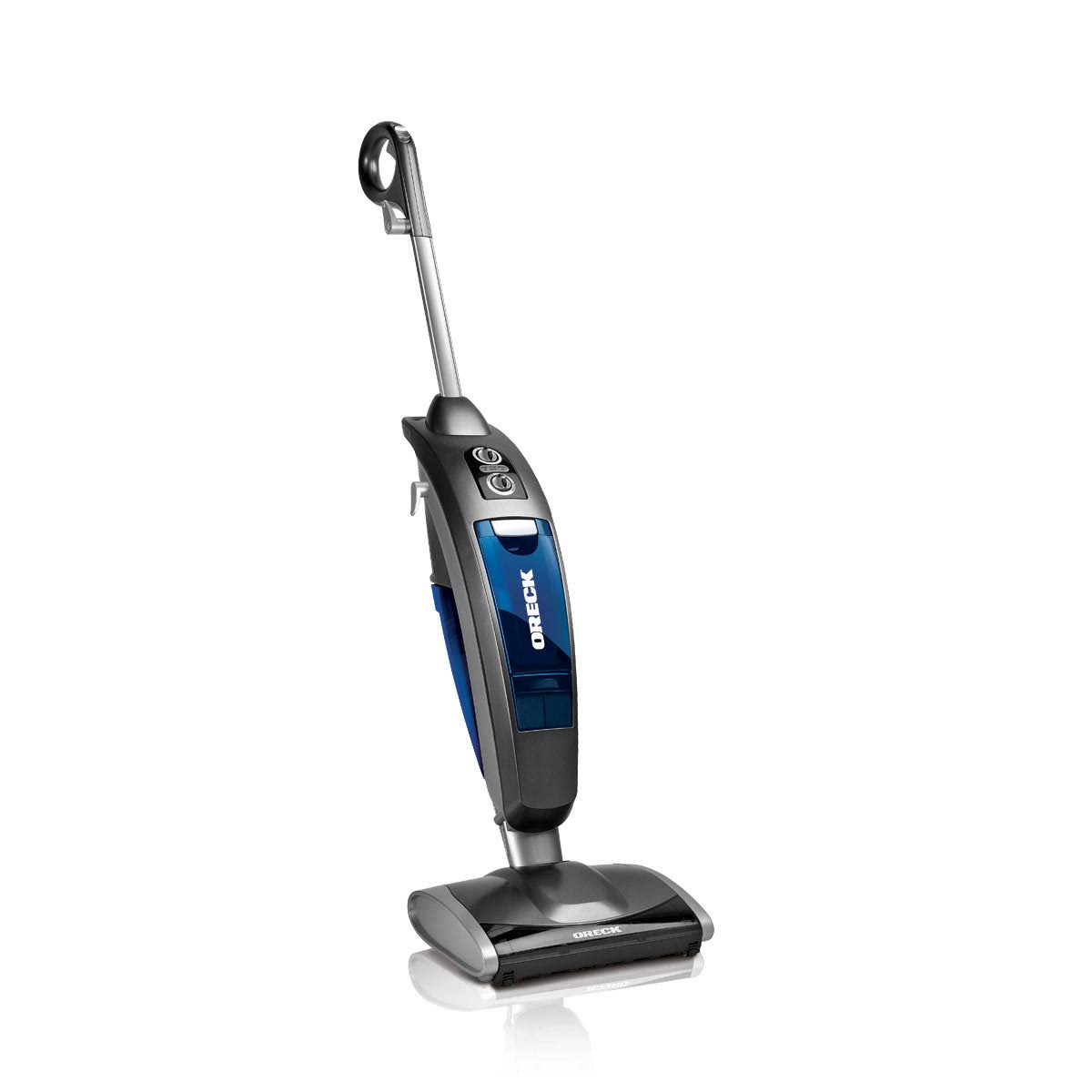 Oreck Versa Vac 2 in 1 Vacuum and Steam Mop Cleaner System - Blue