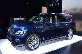 Infinity Qx80 2015 Blue | 2015 Infiniti QX80 Shows Off New Look In ... 2017 Finiti Qx80 Review Ratings Edmunds Used Fond Du Lac Wi Infiniti Truck 50 Best Fx37 For Sale Savings From Luxury Cars Crossovers And Suvs Warren Henry Miami Fl Sales Service Parts 2019 Qx60 Reviews Price Photos Specs Dealer In Suitland Md Of Limited Exterior Interior Walkaround Tampa New Dealership Orlando Fresno A Vehicle Larte Design 2016 Missuro White 14 Rides