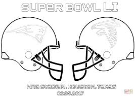 Click The Super Bowl LI New England Patriots Vs Atlanta Falcons Coloring Pages