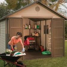 Keter 10x8 Stronghold Shed by Plastic Sheds