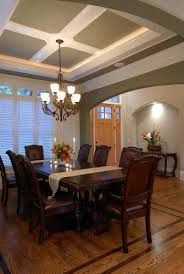 POP Ceiling In Dining Room
