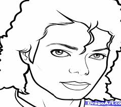 Michael Jackson Coloring Pages Thriller Printable For Kid