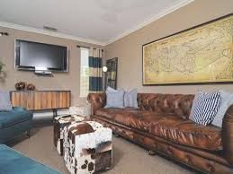 Interior Masculine Living Room Colors Rustic Beige Wall Paint Color Design With
