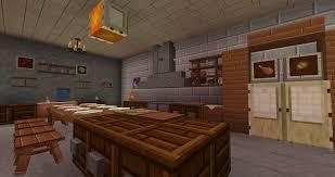cuisine dans minecraft minecraft ma cuisine dans le terrier à chamdelune sur le serveur