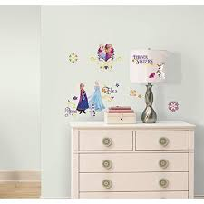 Wall Decal For Girl FROZEN SPRING 27 Decals Disney Princess Room Decor Stickers Elsa Anna