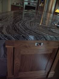 Sometimes A Little Dark Mystery Is Exactly What Kitchen Needs Here We Feature The Marble Kenya Black
