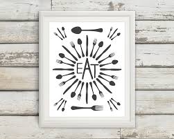 Wooden Fork And Spoon Wall Decor by Fork And Spoon Wall Decor Shenra Com