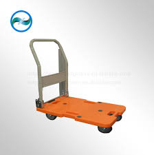 Platform Folding/foldable Plastic Hand Truck Chinese Trolley/dolly ...