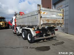 100 Truck Retarder Fassi On Chassis SCANIA P 124420 8x4 Steel Fassi 21 Ton