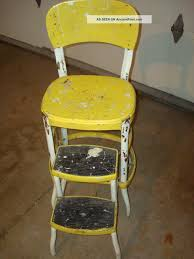 Cosco Retro Chair With Step Stool Yellow by Cosco Kitchen Stool U2013 Kitchen Ideas