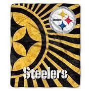 Pittsburgh Steelers NFL Strobe Sherpa Throw