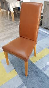 NEXT Leather Dining Chairs