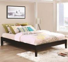 Eastern King Platform Bed by Pine Platform Beds Frames Ebay