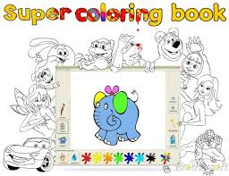 Download Free Super Coloring Book 32