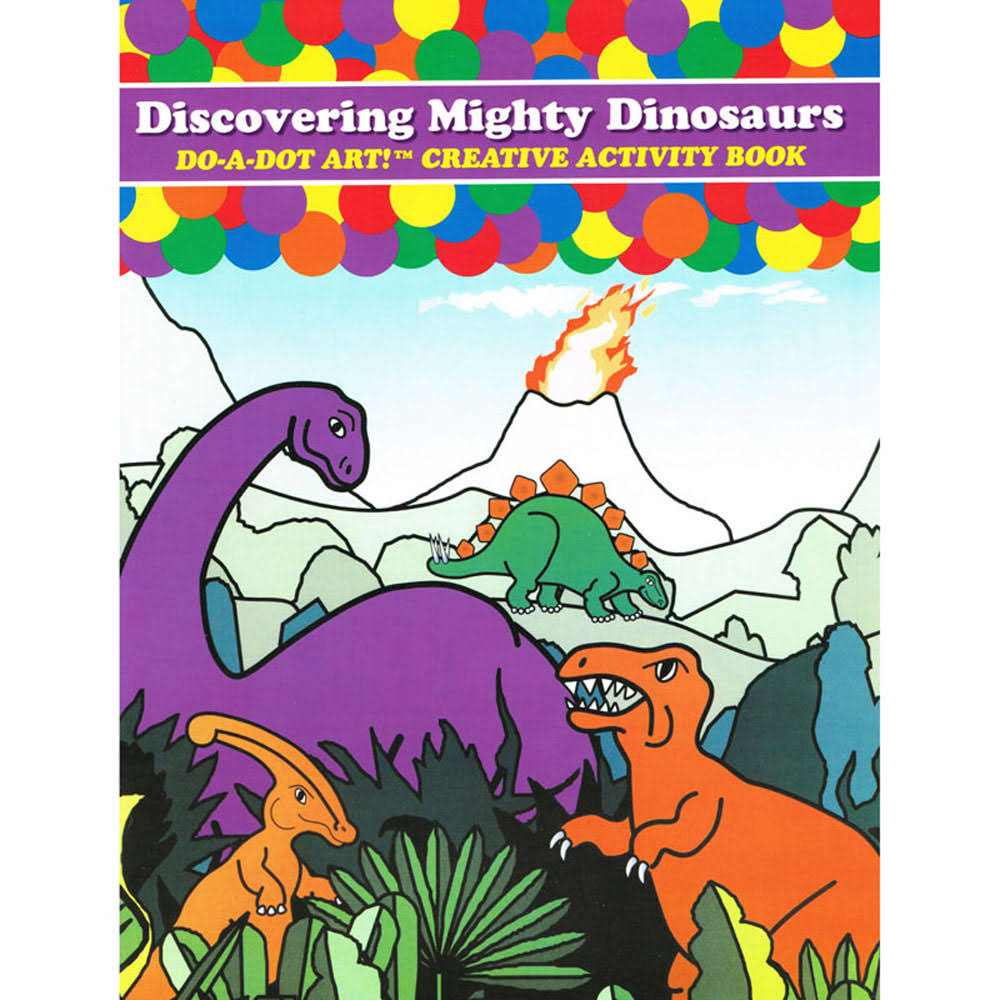 Do A Dot Dinosaurs Book Activity