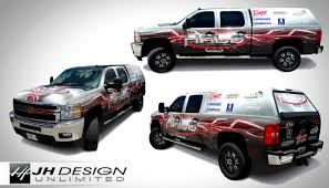 100 Truck Wrap Design Halo Fishing JH Unlimited