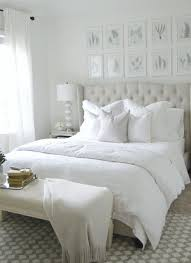 I Love How Calm And Serene This Room Feels White Bedroom CurtainsWhite Bedding DecorWhite