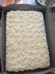 Rustic Wedding Sheet Cakes