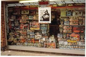 Vintage Star Wars Toy Store Window Display