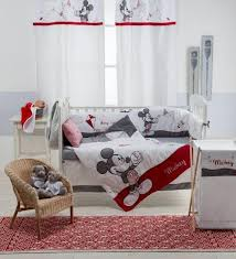baby bedding designs disney blue mickey mouse 4 piece crib bedding set