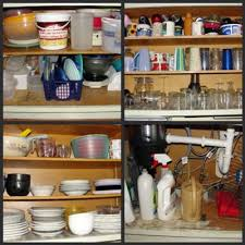 Organize Kitchen Cabinets Hall Fame Before & After