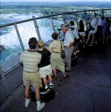Skylon Tower Revolving Dining Room by Niagara Falls