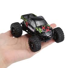 Virhuck 1/32 Scale 2WD Mini RC Truck For Kids, 2.4GHz 4CH Off-road ... 132 Scale 2wd Mini Rc Truck Virhuck Nqd Beast Monster Mobil Remote Control Lovely Rc Cardexopbabrit High Speed Car 49 New Amazing Wl 2019 Speed 20 30kmhour Super Toys Blue Wltoys Wl2019 Toy Virhuck For Kids 24ghz 4ch Offroad Radio Buggy Vehicle Offroad Kelebihan 27mhz Tank Rechargeable Portable Revell Dump Wltoys A999 124 Proportional For Wltoys L929 Racing Stunt Aka