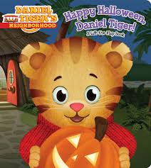 Halloween Books For Kindergarten by Happy Halloween Daniel Tiger Book By Angela C Santomero