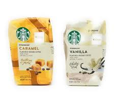 Starbucks Flavored Coffee Caramel And Vanilla 11 Oz Set Of 2
