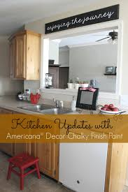 Americana Decor Chalky Finish Paint Lace by Ginger Snap Crafts Kitchen Updates With Americana Decor Chalky