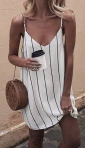 Summer Fashion Striped Dress