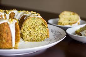 Zucchini Lime Pistachio Cake Kendra s Treats