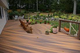 Runnen Floor Decking Outdoor Brown Stained by Wood Patio Flooring Home Design Ideas And Pictures
