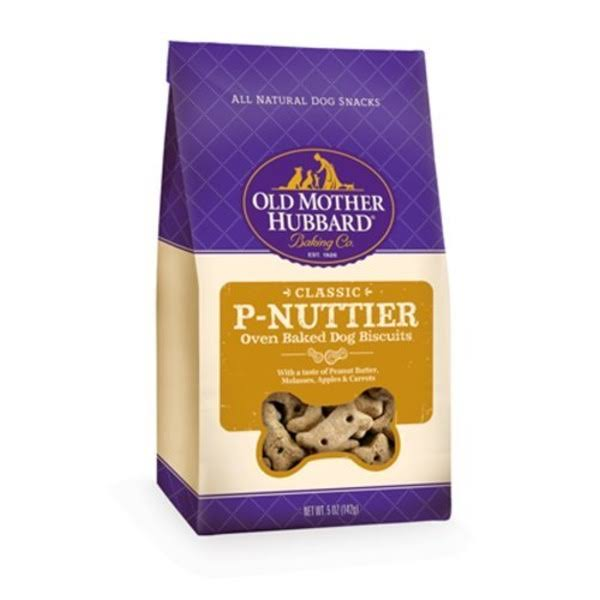 Old Mother Hubbard Dog Biscuits - P-Nuttier