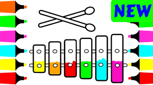 Coloring Pages Xylophone For Kids