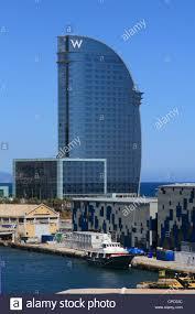 100 Barcelona W Hotel Spain Catalonia Hotel Stock Photo 48206688 Alamy