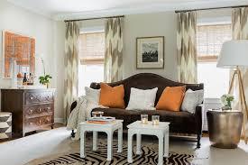 chevron curtains transitional living room erin gates design