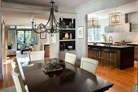 Best Floor For Kitchen And Dining Room by Kitchen Room Open Floor Plan Kitchen Dining Living Room Best