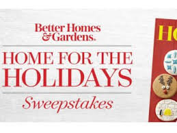 Homes & Garden Home for the Holidays Sweepstakes