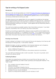 how to write a good appeal letter for secondary school