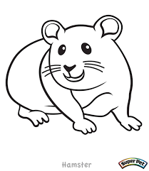 Hamster Coloring Pages To Download And Print For Free Online