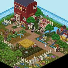 As Easter Is Approaching Habbo Staff Has Prepared Various New Furni That Will Arrive In The Hotel Soon This Farm Image Was Uploaded Onto Habbos Instagram