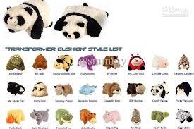 Stuffed Animal Pillow Plush Toys Pillow Pets Mr Bear Reading