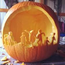 Walking Dead Pumpkin Template Free by Zombie Weekend Walking Dead Zombie Inspired Pumpkin Carving